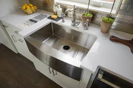 Farmhouse Apron Kitchen Sinks Kitchen Stainless Steel Farmhouse Apron Front Kitchen Sink For