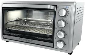 countertop oven with rotisserie oven 9 slice 5 functions rotisserie convection toaster cooking silver best toaster oven rotisserie review toaster oven