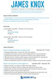 Cool Resume Trends Gallery Entry Level Resume Templates