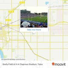 Ha Chapman Stadium Seating Chart How To Get To Skelly Field At H A Chapman Stadium In Tulsa