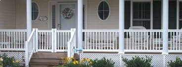 vinyl deck porch railing for sale lancaster pa fence company
