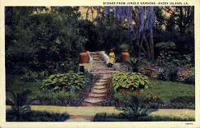 stop 14 sunken gardens in its day this garden was an engineering marvel avery island is an extruded bubble of a salt dome formed from the salt of an
