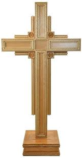 standing wooden cross large decorative 4 gospels standing wooden cross rustic wood standing cross