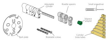 Euro Cylinder Size Chart Danalock V3 Euro Installation Guide Andivi