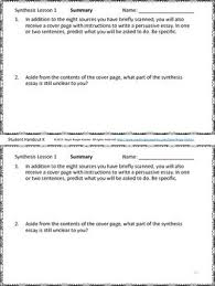 Ap English Synthesis Essay Read Em And Weave The Ap English Language Synthesis Question