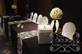 Decorated Money Box Receiving Table is Decorated with Ivory Rose Ball Arrangements 9