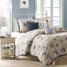 33 neoteric design beach themed duvet covers madison park nantucket blue cotton printed 6 piece cover set king