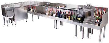 Under Bar Design Choicebyglastender Underbar Cocktailstation Arrangement