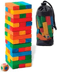 How To Play Tumbling Tower Wooden Block Game Outside Inside Tumbling Tower Game Products Pinterest Tower 90