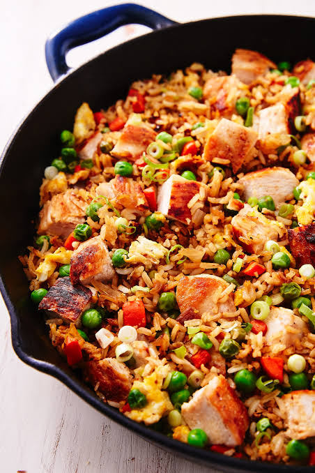 Roasted Chicken Fried Rice
