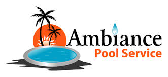 pool service logo. Ambiance Pool Service Logo
