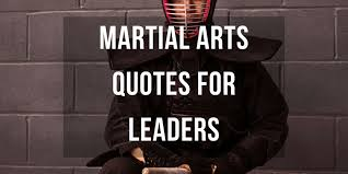 Martial Arts Quotes Stunning 48 Martial Arts Quotes A Surprising Source Of Inspiration For Leaders