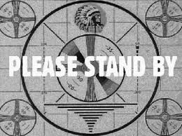Normal service will resume shortly.