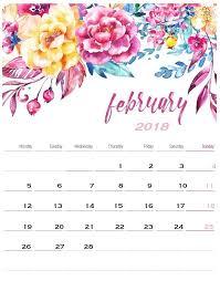 february printable calendar 2019 free printable february 2018 template calendar maxcalendars