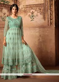 Wedding Designer Blue Wedding Designer Pakistani Suit