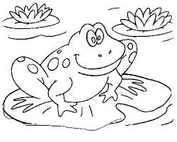 Frog crafts and learning activities for kids. Frog 7590 Animals Printable Coloring Pages