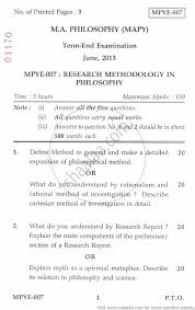 research methodology in philosophy social work research methodology in philosophy 2013 social work philosophy ma university exam