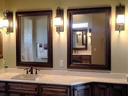 Framed bathroom mirrors framed bathroom mirror large framed