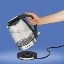 hamilton beach electric kettle 1 7l glass electric kettles best canada