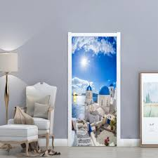 Boodecal 3d Door Wallpaper Murals Wall ...