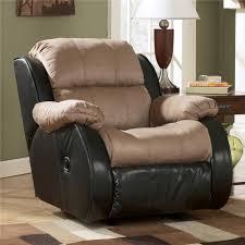 Ashley Furniture Presley Cocoa Casual 2 Tone Rocker Recliner