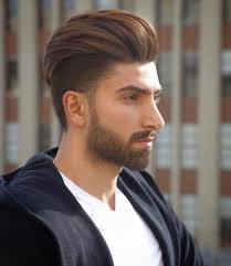 Hair Style With Volume mens undercut with a high volume backbed pompadour 5788 by wearticles.com