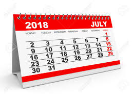 Image result for JULY 2018 calendar free clipart pic