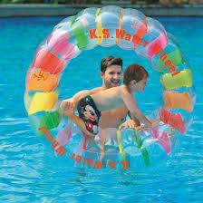 Amazoncom Water Wheel Giant Inflatable Swimming Pool Water Wheel