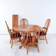 country style dining room furniture. Dining Chairs: Oak Set With Pedestal Table And Windsor Style Chairs Jasmine Country Room Furniture