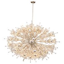 sputnik chandelier brushed nickel designs