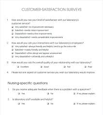 Sample Client Satisfaction Survey Stunning Customer Satisfaction Survey Examples Bad Ideas Surveys Excellent