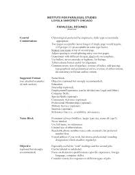 Paralegal Sample Resume Resume For Your Job Application