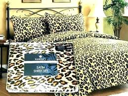 leopard print bedding animal print sheet sets giraffe print bedding set covers print sheets animal print