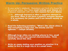 warm up persuasive writing practice ppt video online  warm up persuasive writing practice