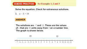 guided practice solve the equation check for extraneous solutions