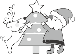 クリスマスのイラストイラスト無料フリー素材クリスマスツリー