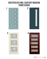 modern front doors. Modern Front Door Options WithHEART Doors P