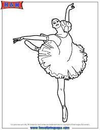 Ballet Dancer Coloring Pages 47671 Hypermachiavellismnet