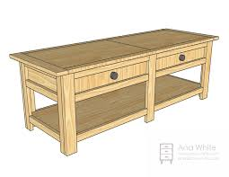 Coffee Table Plans Pdf