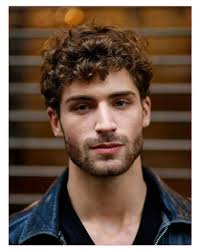 good hairstyles for curly hair men along with nice curly men hair