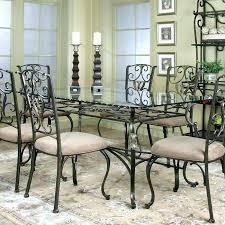 6 rectangle glass dining room table rectangular glass dining table rectangle glass dining room sets