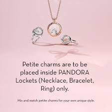 pandora petite locket charm letter s