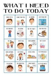 78 Best Toddler Routine Chart Images In 2019 Routine Chart