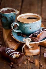 Image result for riding a bike for hot coffee and pastry