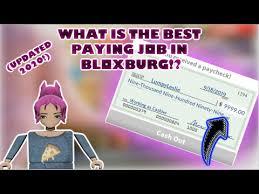 bloxburg jobs stats jobs ecityworks