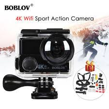4k Wifi Sports Bike Action Camera Dual Screen Waterproof Extra
