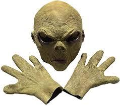 Alien <b>Mask Grimace</b> Spoof Masquerade Horror <b>Halloween</b> Gloves ...