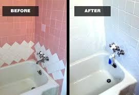reglaze tub bathtub and tile