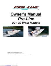 pro line boats 20 owner's manual pdf download 24 Proline Walk Around at Proline Walkaround 201 Wiring Diagram