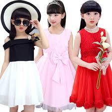 <b>2017 Korean</b> Style Girl Princess <b>Dress Kid Clothes</b> Skirt Top Shirts ...